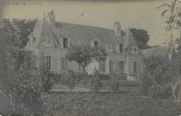 Saint-Cyr-sur-Loire - La Béchellerie - Anatole France, carte photo manuscrite juillet 1918.