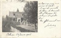 Saint-Cyr-sur-Loire - Palluau, carte photo.