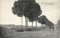 Saint-Cyr-sur-Loire - Le Pont de la Motte.