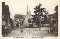 Saint-Cyr-sur-Loire - L'Eglise bâtie par Louis XI.