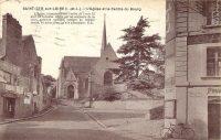 Saint-Cyr-sur-Loire - L'Eglise et le Centre du Bourg.